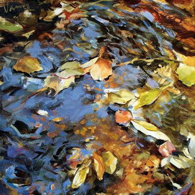 Floating Leaves I