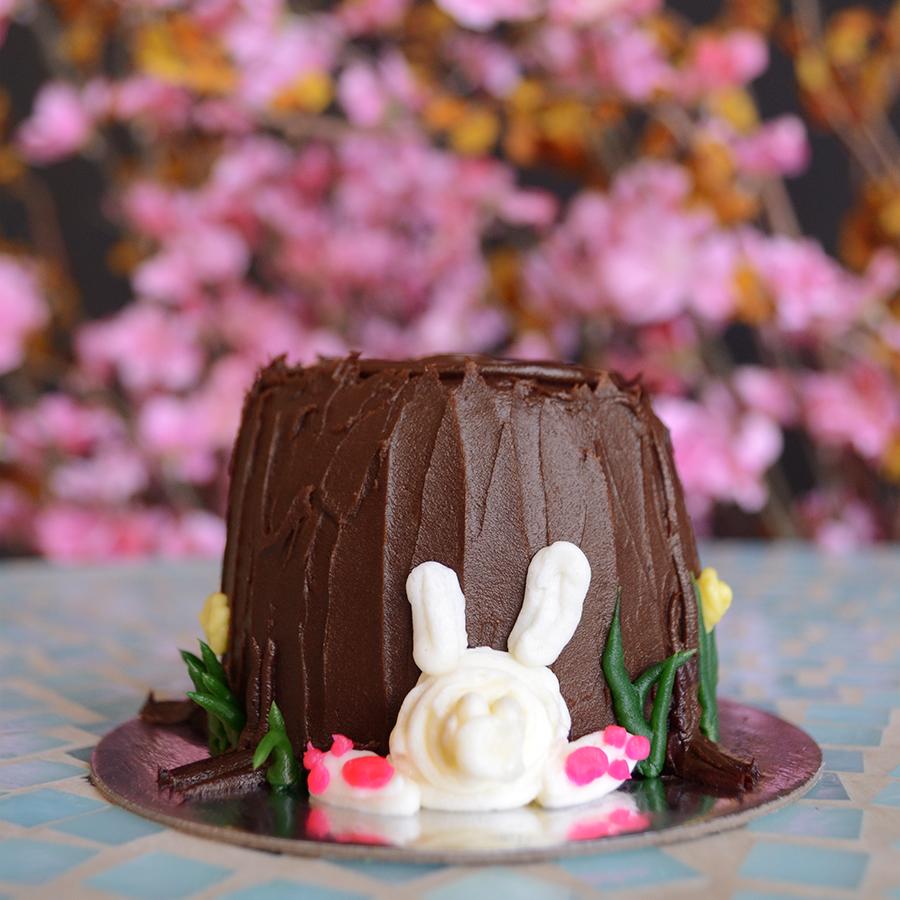 bunny themed cakes