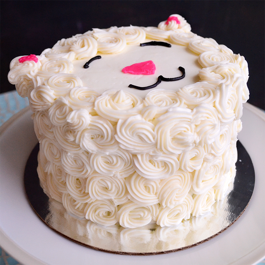 silly little lamb cake