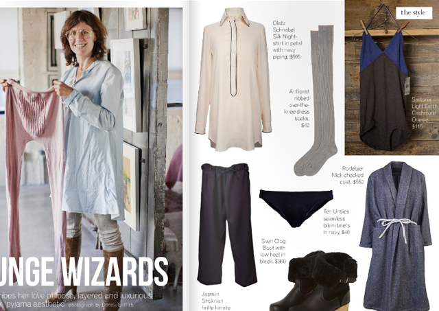 Covet Garden  (Feb 2013: Issue 31,  Lounge Wizards , pg 24 & 25)