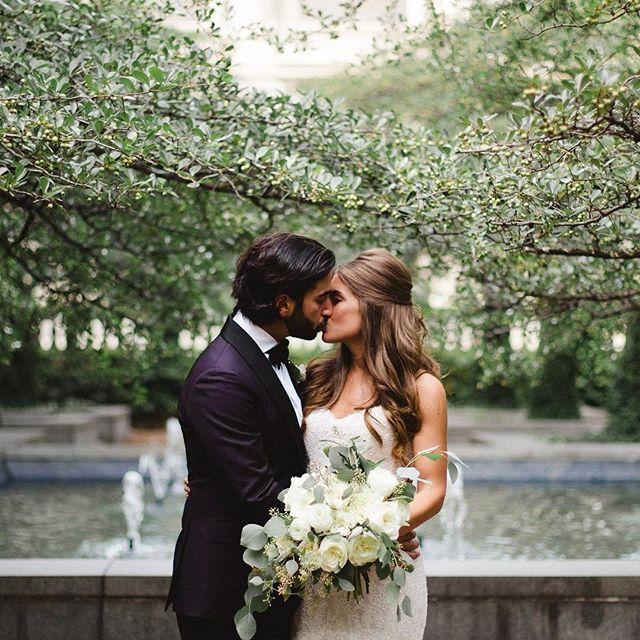 A sneak peek of Caitlin + Joey's wedding 😍