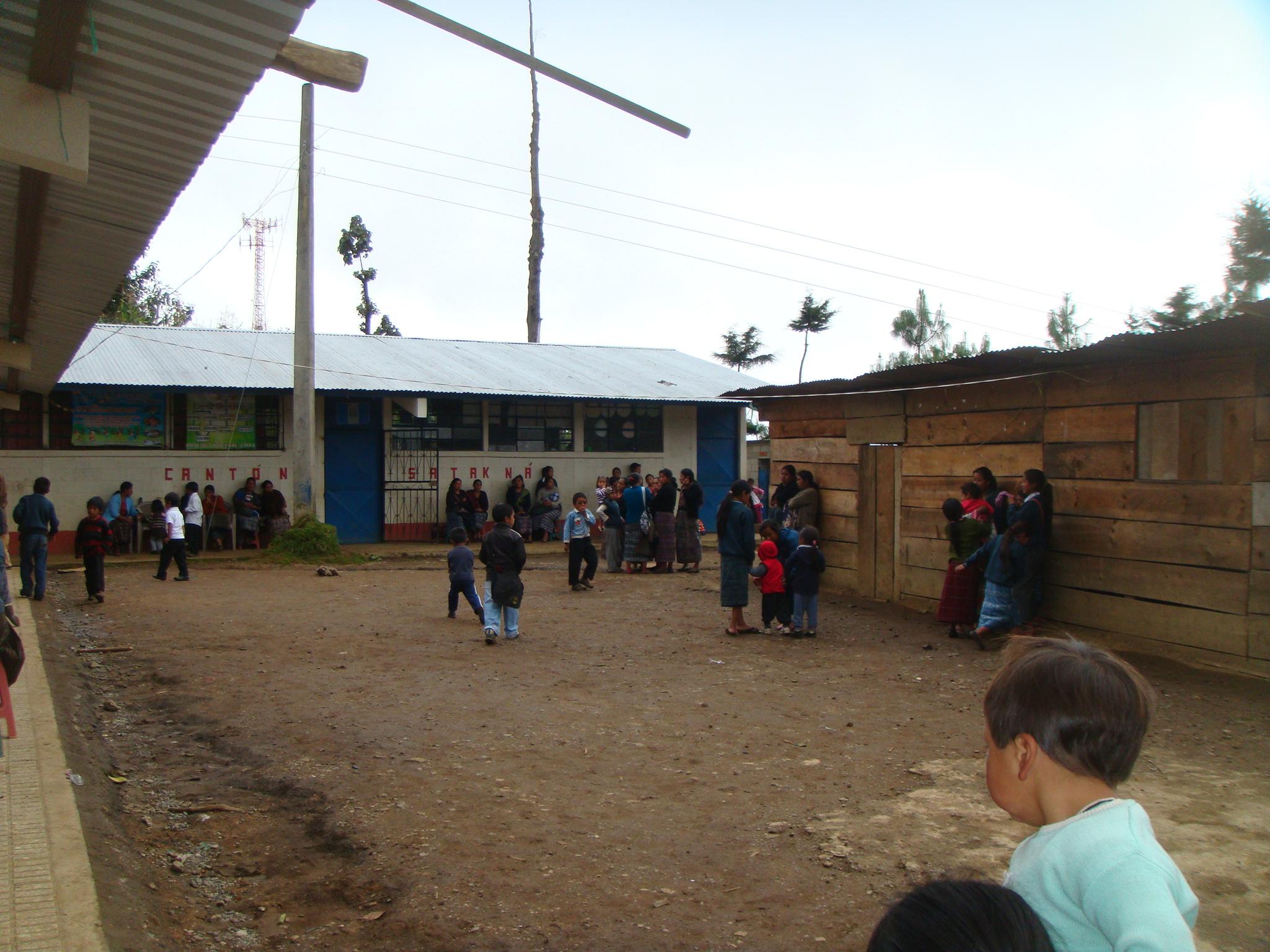 Satakna School Central Courtyard.JPG