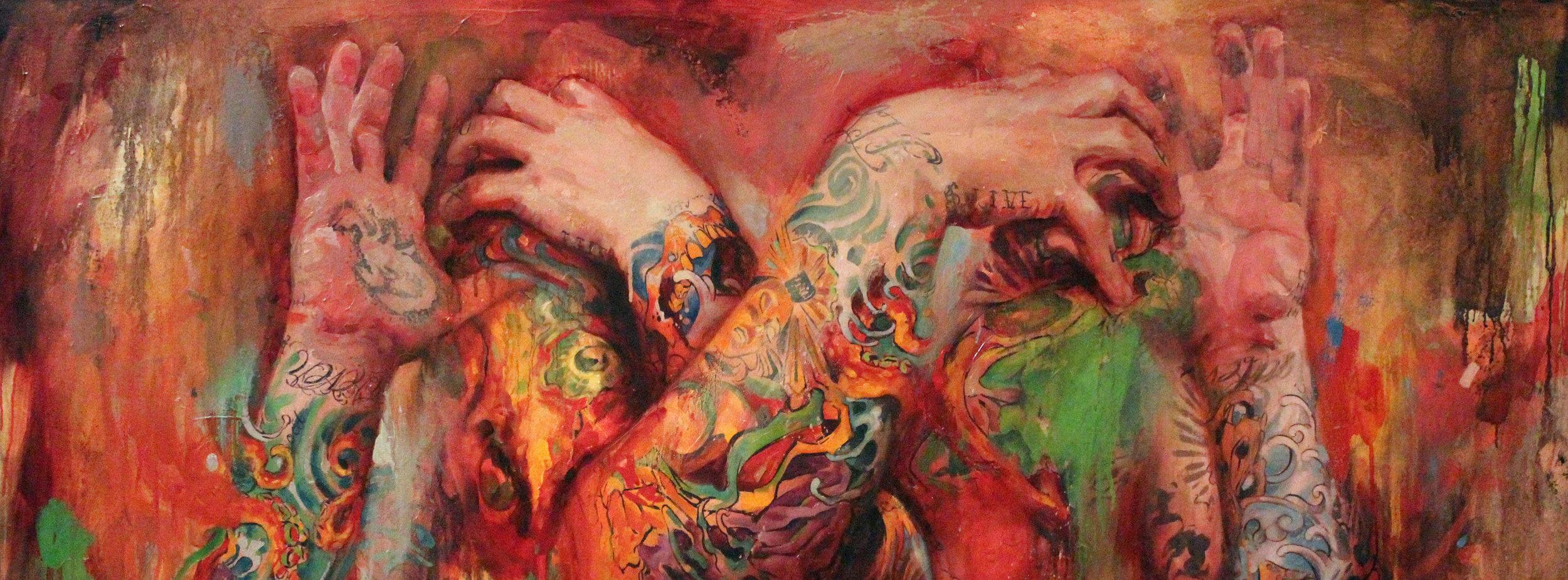 The Tattooed Portraits Series: 12 Year Retrospective  Artist: Shawn Barber