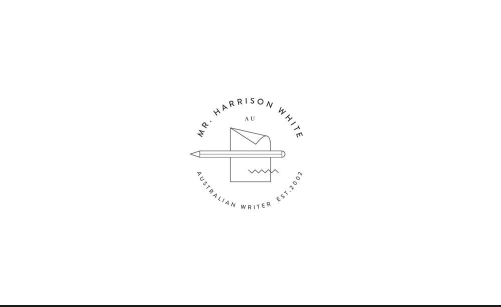 © ChrisRaeDesign.com Sydney 0438453452 info@chrisraedesign.com Branding and Identity Design Web Design Harrison White 02.jpg