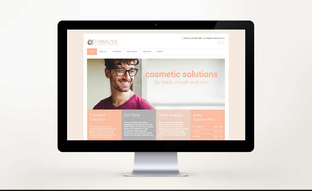 © ChrisRaeDesign.com Sydney Brand Identity Graphic Web Print Design Thirroul Dental Studio Dentist 01.jpg