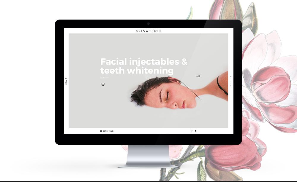 © Chris Rae Design Sydney - Graphic Web Branding Social Media Marketing - 01 Skin and Teeth branding by.jpg