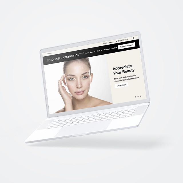 Brand and identity design + website design and creation for O'Connell Aesthetics Clinic Sydney. #linkinbio  #chrisraedeisgn #branding #branddesign #websitedesign #minimalism #contemporarydesign #aesthetics #werk #beautyclinic #cosmeticdentistry #cosmeticinjectables