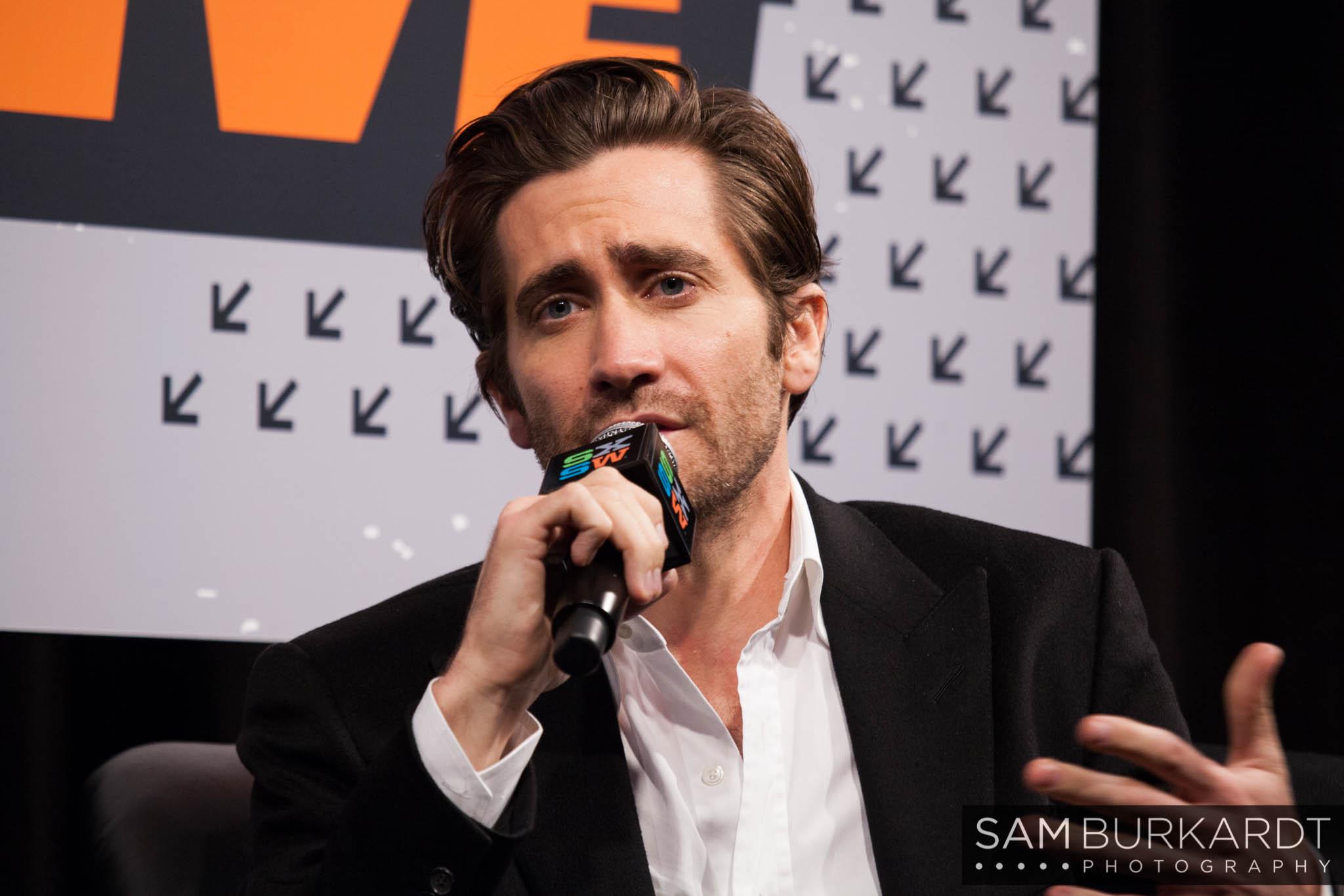 Jake Gyllenhaal at SXSW 2016 for Demolition interview