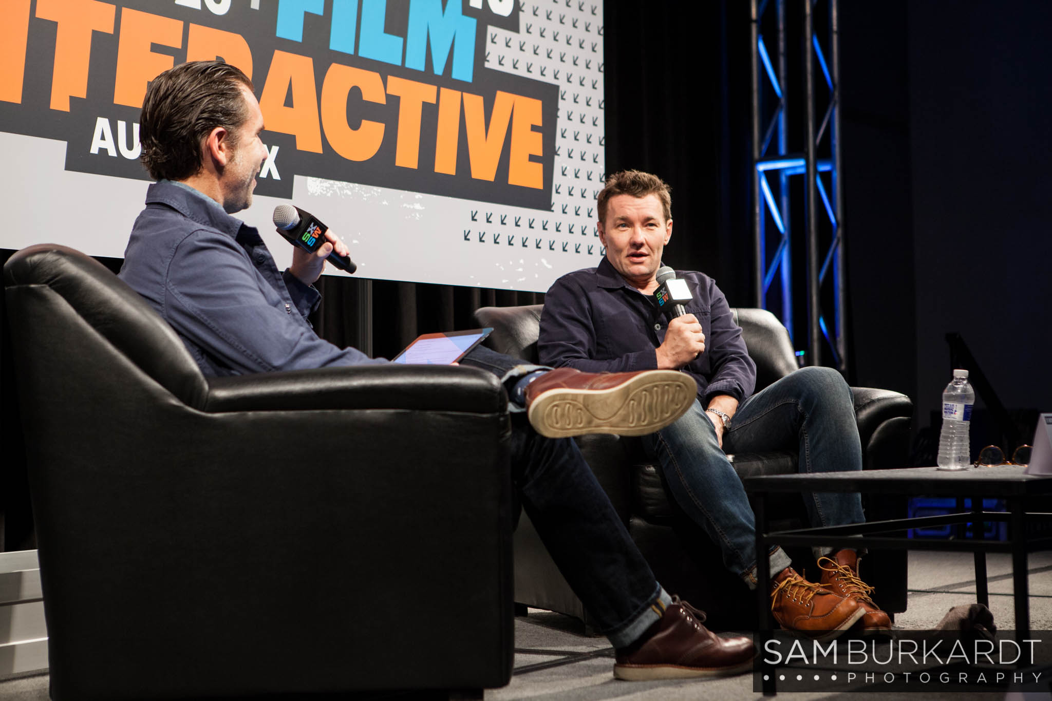 Joel Edgerton at SXSW 2016 for 'Midnight Special' interview