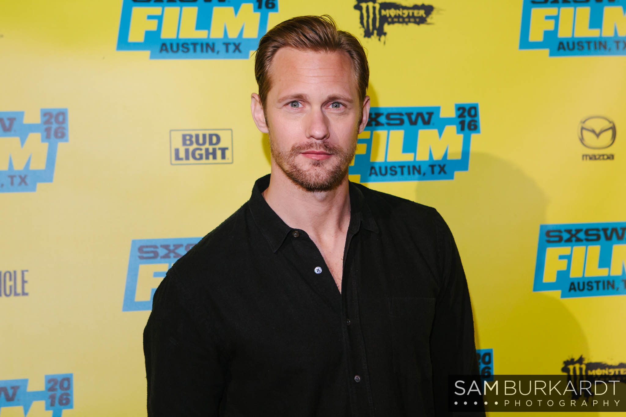 Alexander Skarsgard red carpet premiere for 'War on Everyone' at SXSW 2016