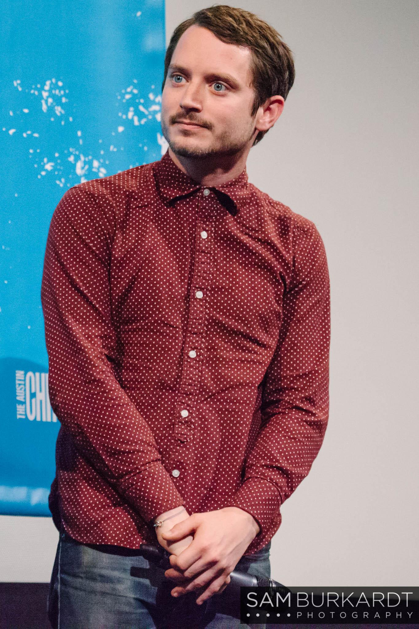 Elijah Wood at 'The Trust' premiere at SXSW 2016