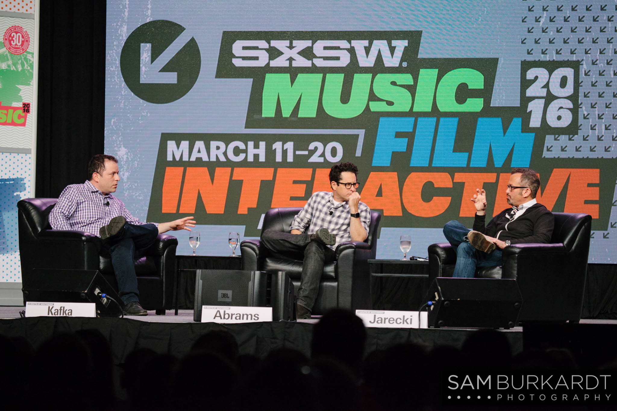 J.J. Abrams interview 'The Eyes of Robots and Murderers' at SXSW 2016