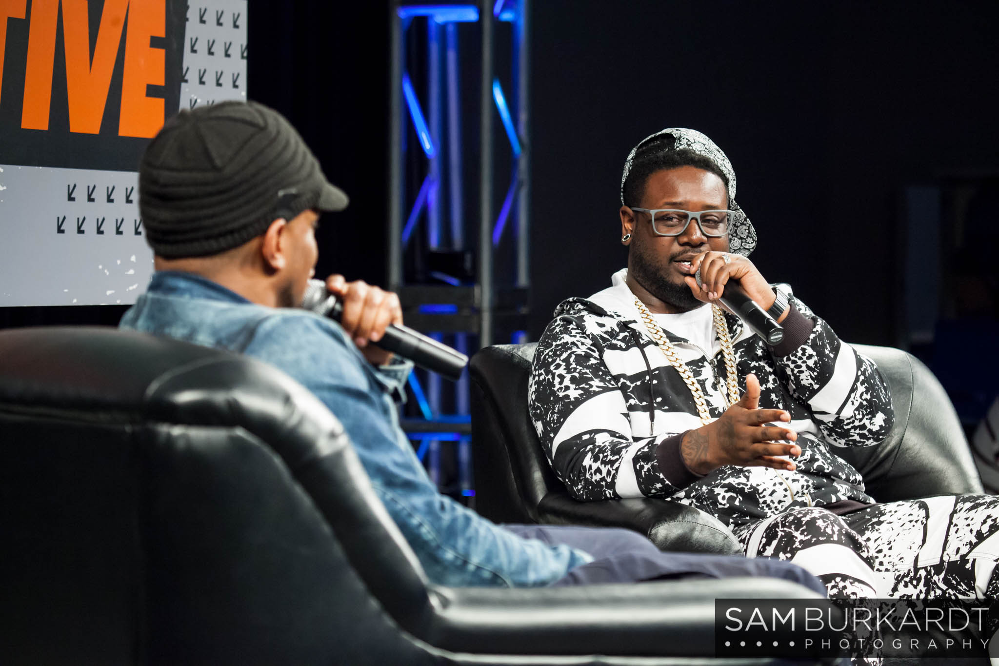 Sway and T-Pain interview at SXSW 2016