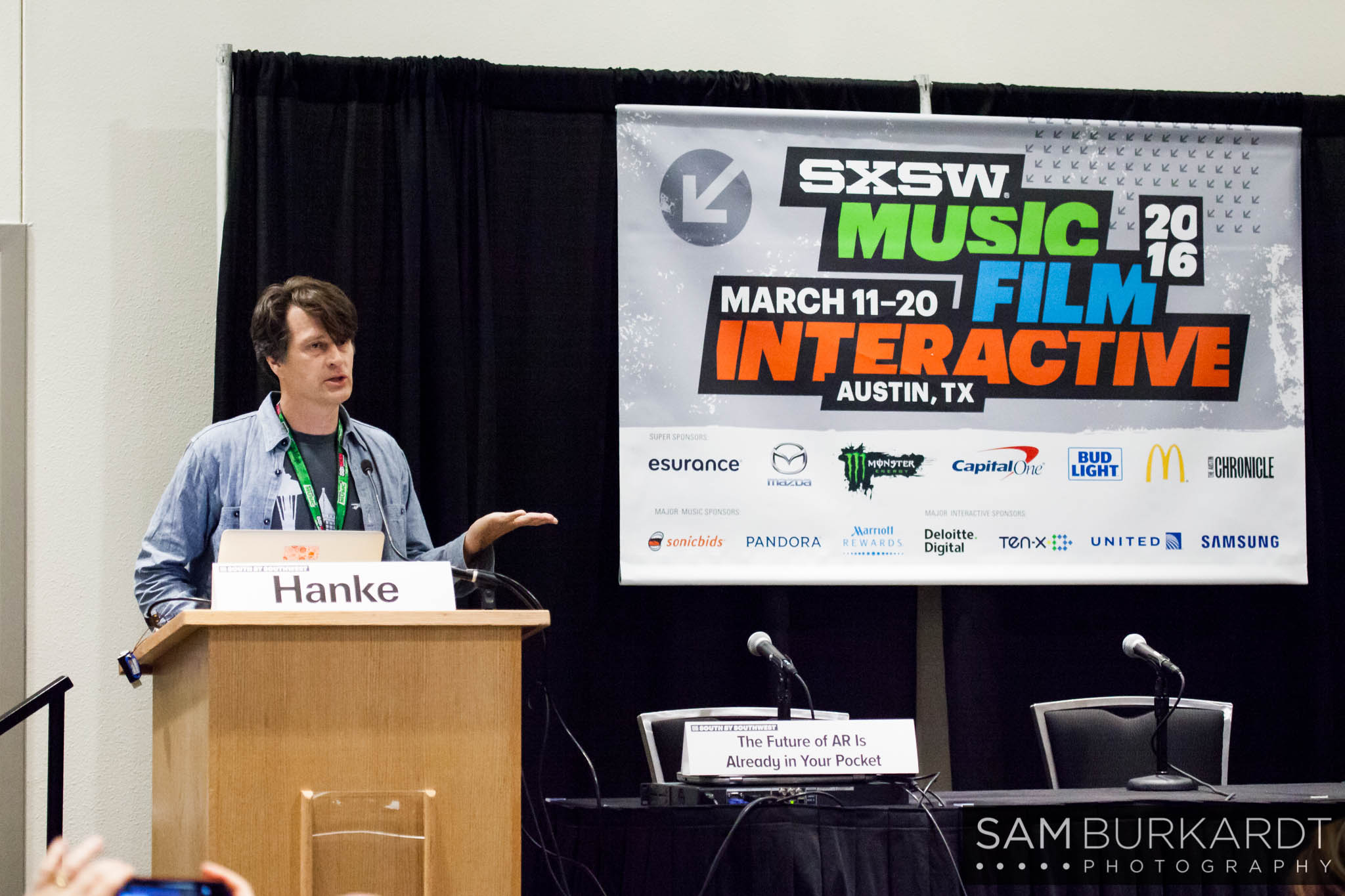 Pokemon Go announcement at SXSW 2016