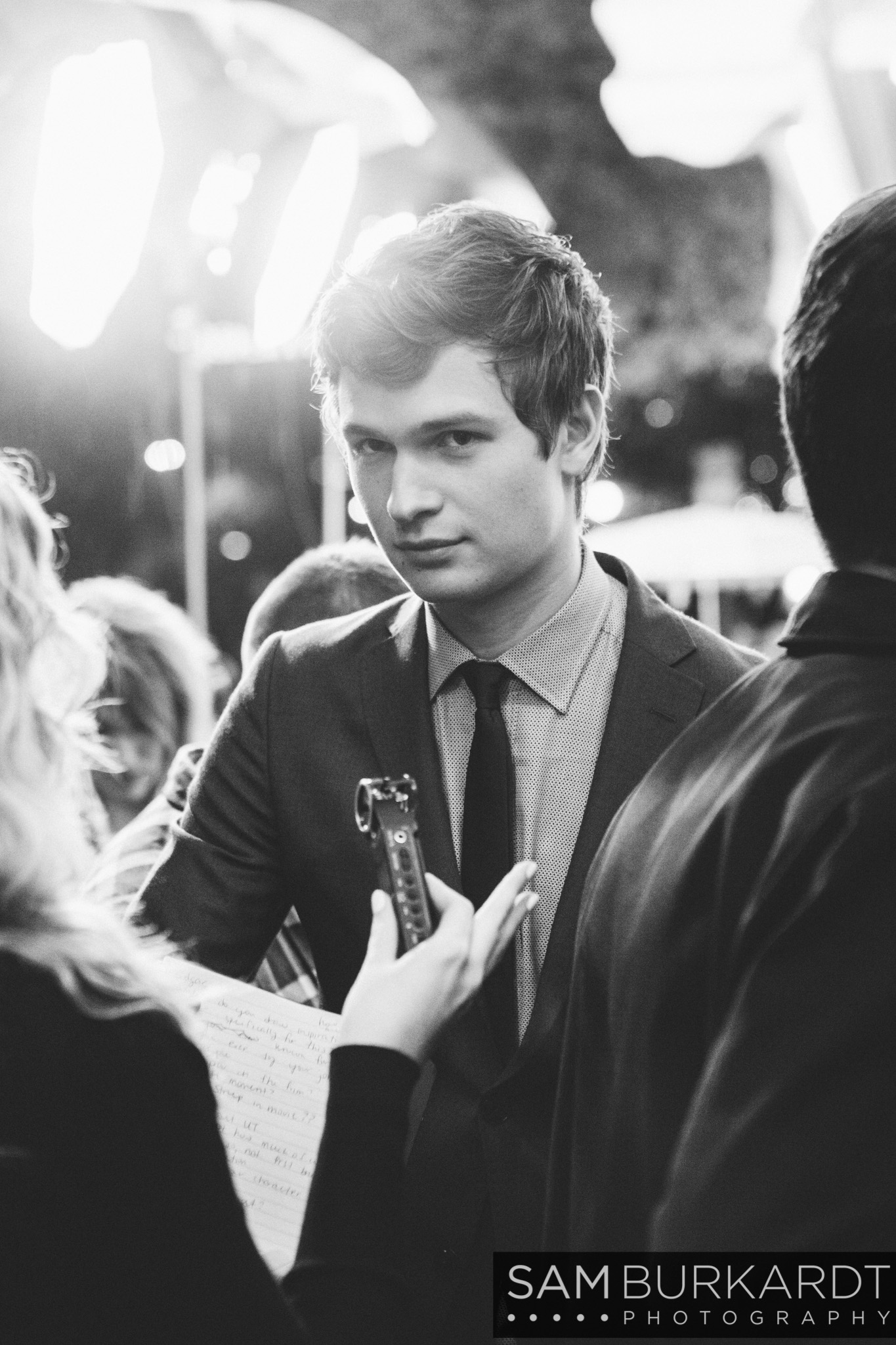 Ansel Elgort - Baby Driver premiere