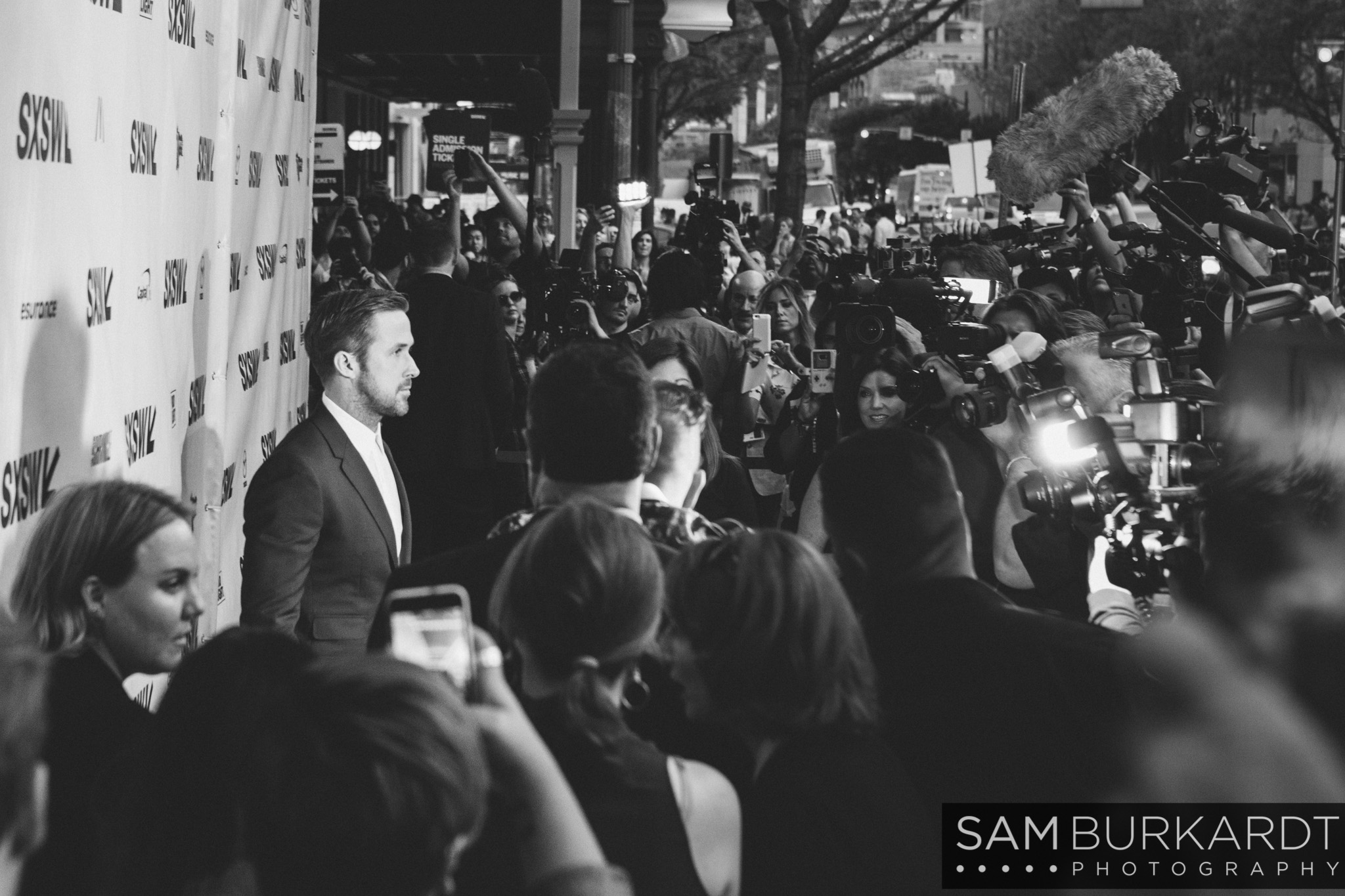 Ryan Gosling - Song to Song premiere at SXSW