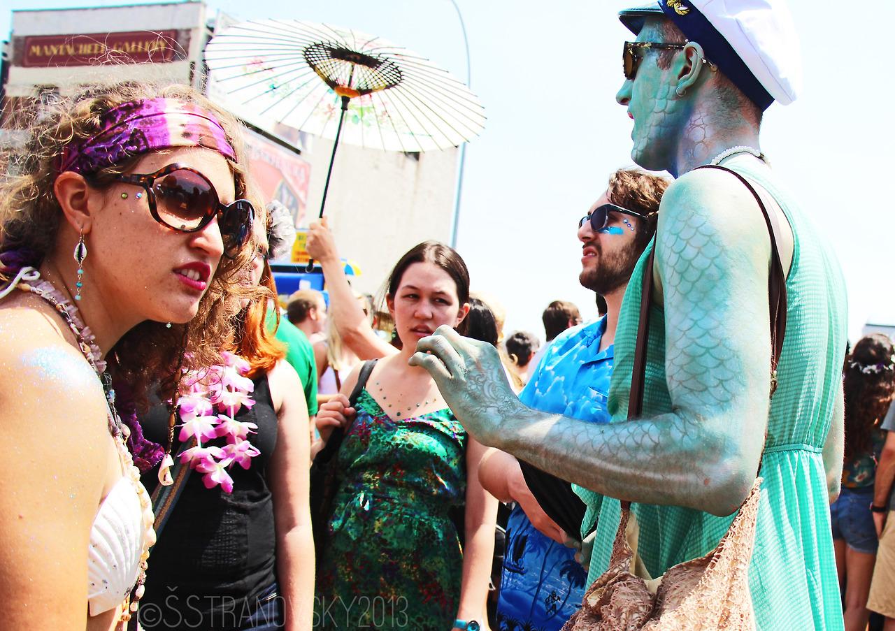 Mermaid Parade, Coney Island, NY.