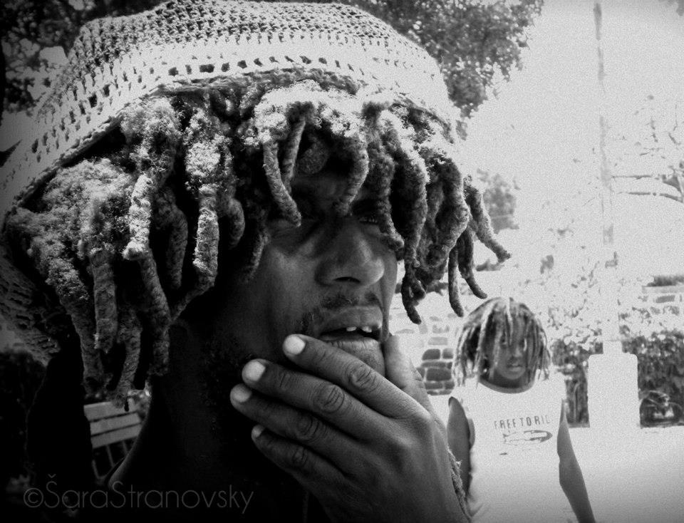 Suka, musician, Santiago, Cape Verde.