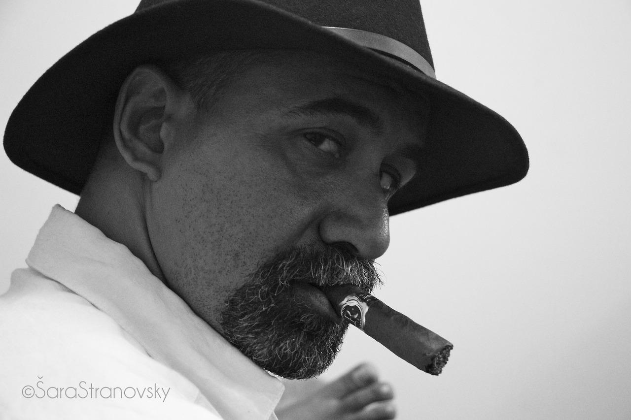 Oumar Camillo, photographer/artist, Praia Cape Verde