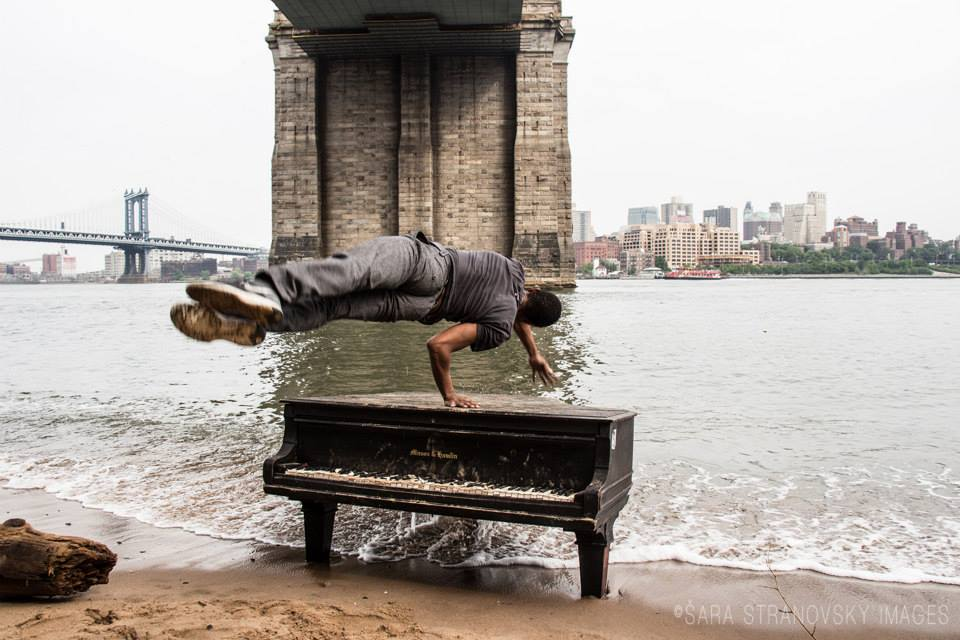 Piano in the East River