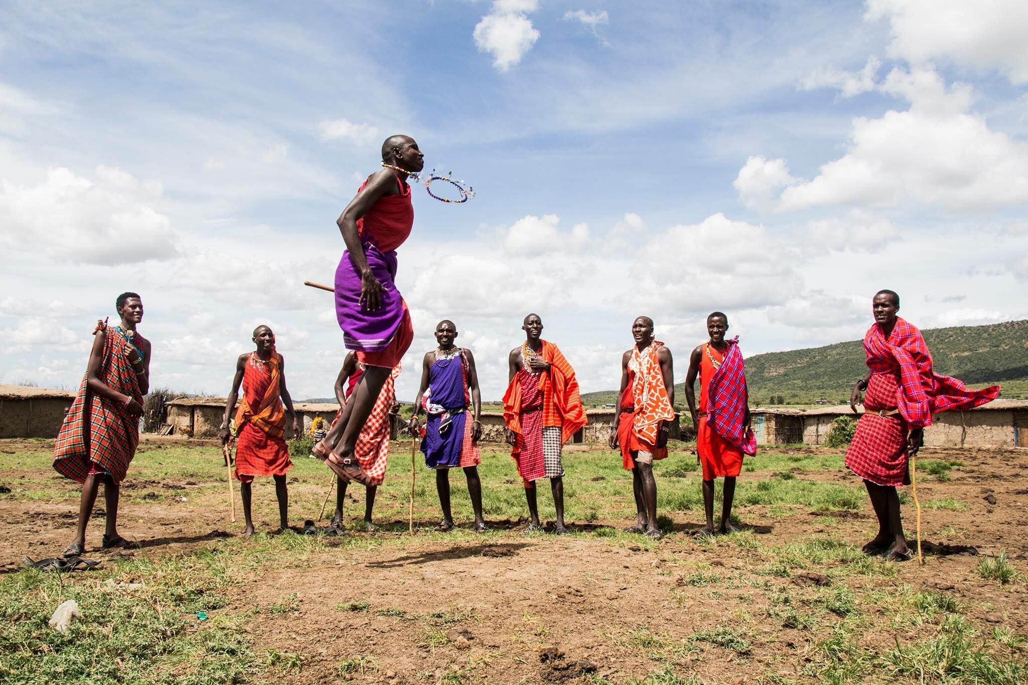 Masai people of Kenya, Jump ritual