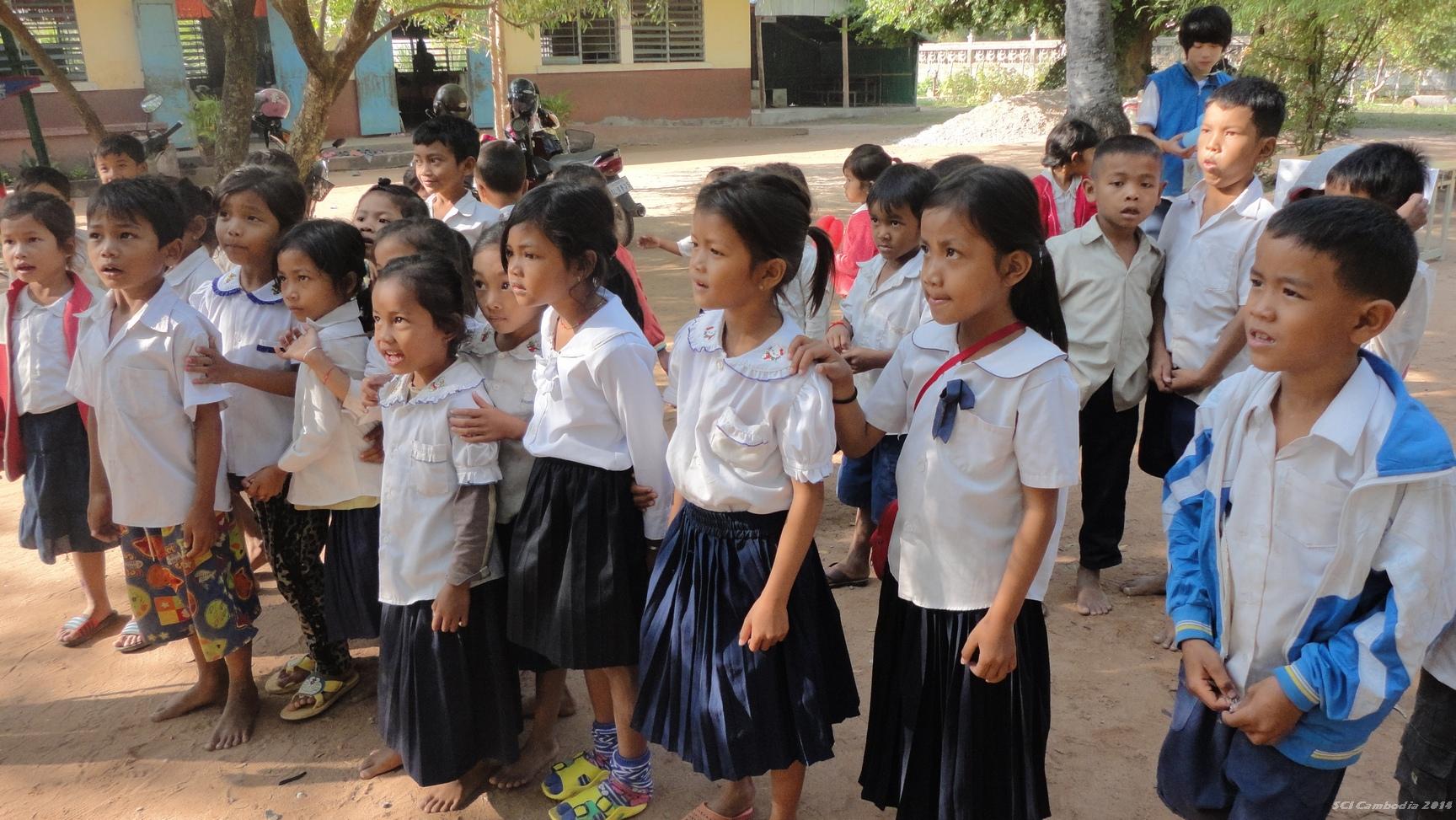 The Children 쿡찬 초등학교 학생들