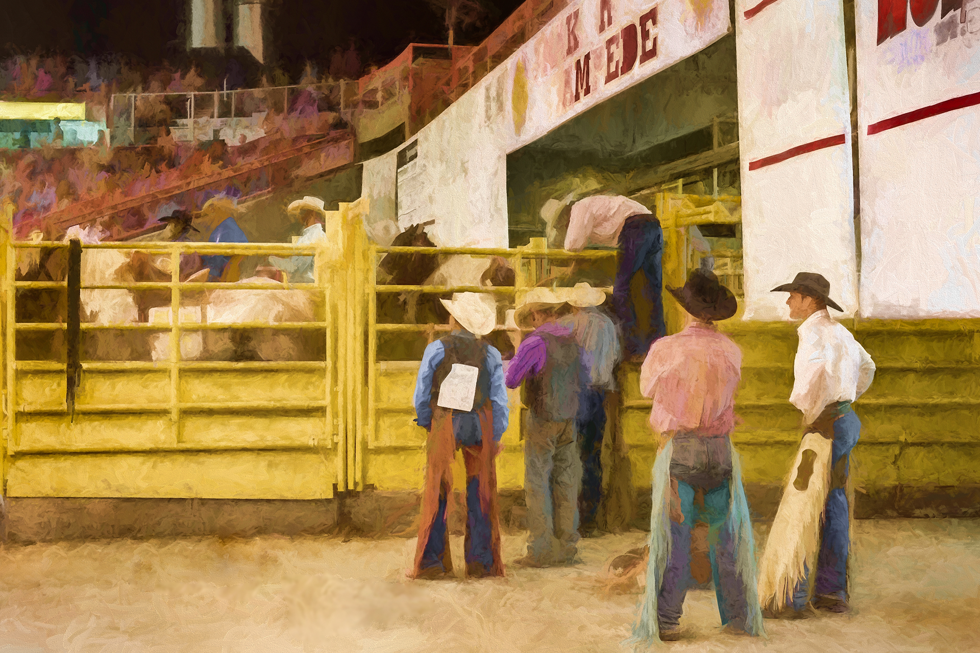 © 2016 Lawrence Manning, 5885 Rodeo study #2