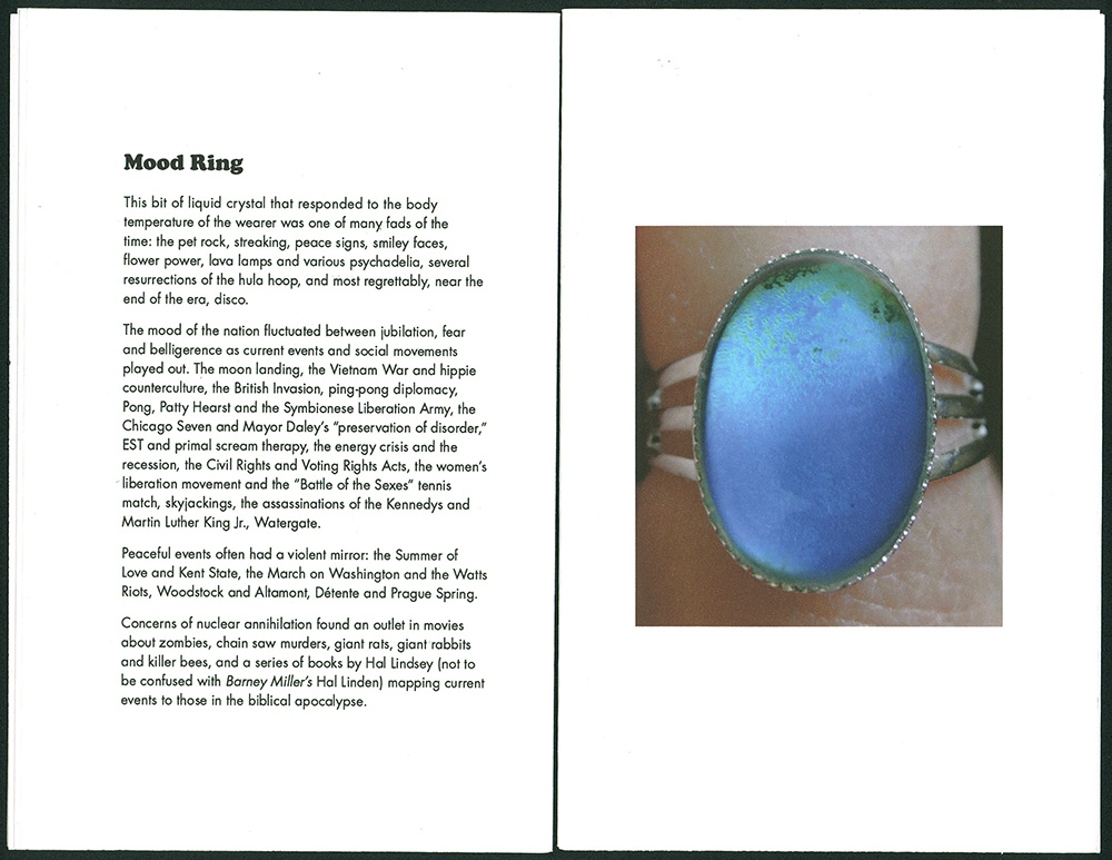 © 2014 Karen Hanmer,  To Serve and Protect , page spread of Mood Ring