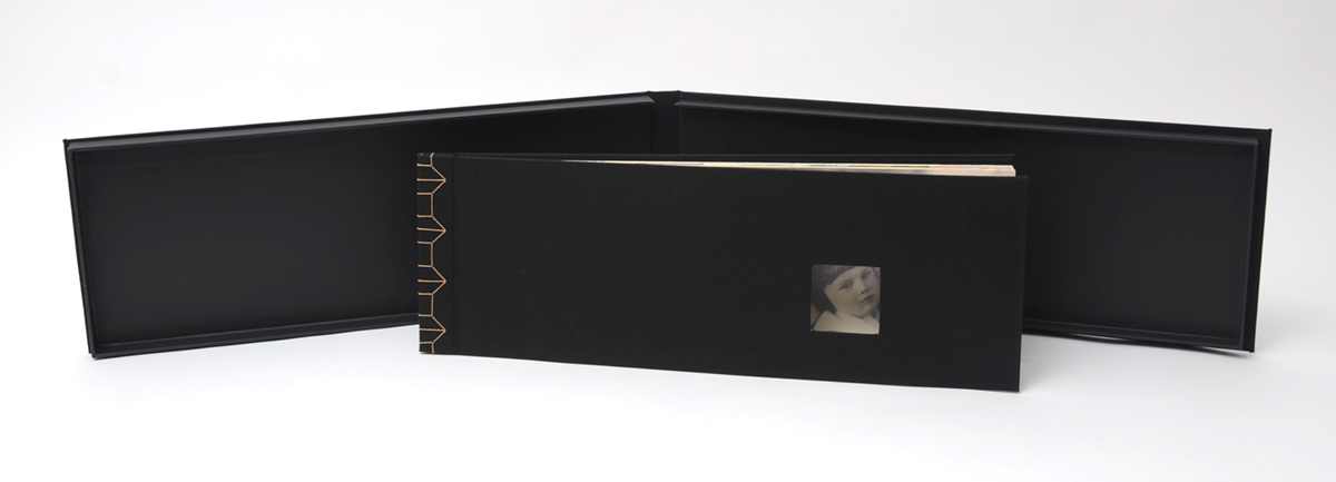 © 2006 Alex Appella, The János Book,8.5 inches x 25 inches x 1.5 inches closed and over 4 feet opened