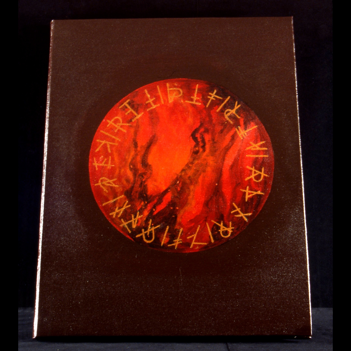 1998 ©Thomas Parker Williams, Fire Book, cover