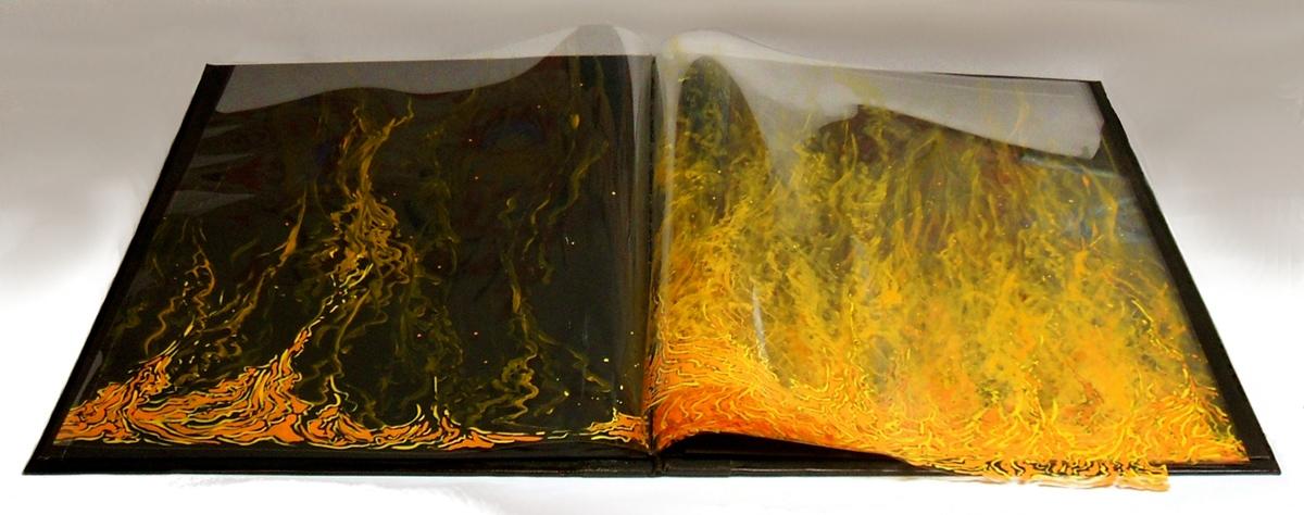 1998 ©Thomas Parker Williams, Fire Book
