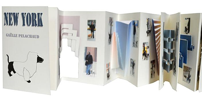 © 2012 Gaëlle Pelachaud, Éditions Rafaël Andréa,New York, livre animé sculpture de papier