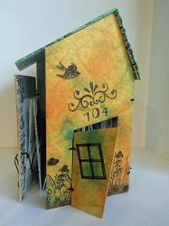 ©Linda Penny,All That's Left,  one-of-a-kind artists' book