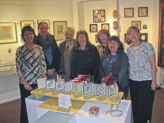 © 2014, left to right: Trish Meyer, Vicki Bolen, Trina Badarak Hall, Dale Harris, Ginger Rice, Marilyn Bennett, Gail Murray