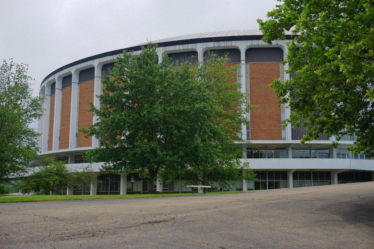 © 2018 Louise Levergneux,Ohio University Convocation Center, Athens, Ohio