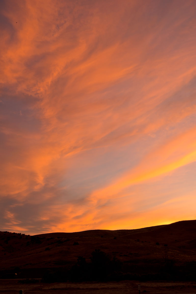 © 2015 Louise Levergneux. Sunset in Avimor, Idaho.