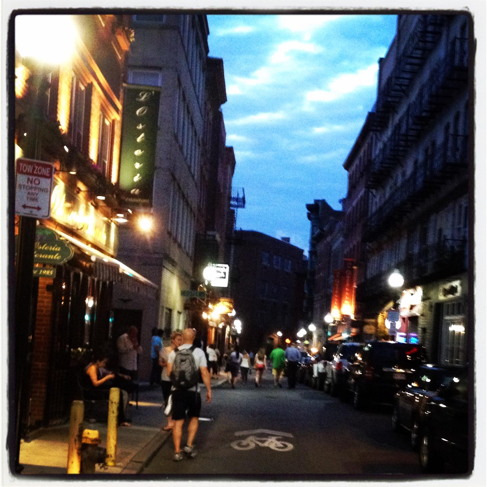 Salem Street.