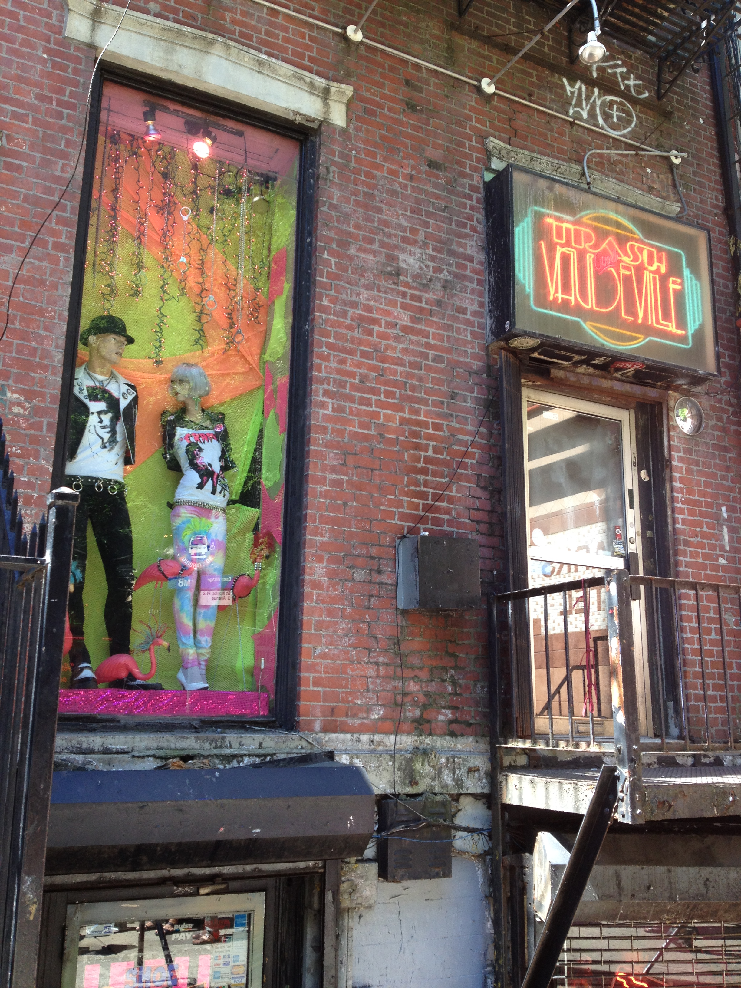 Iggy Pop, Debbie Harry, the New York Dolls and many more shopped here