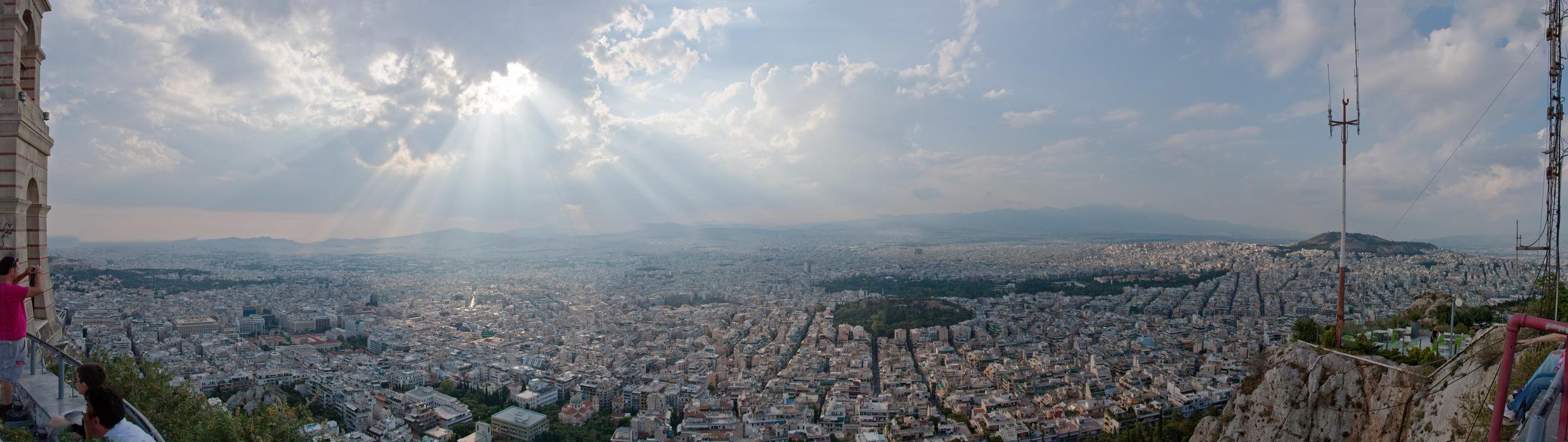 View from Lykavittos