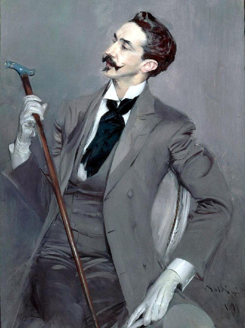 The suit, late 1800's,  by Giovanni Boldini