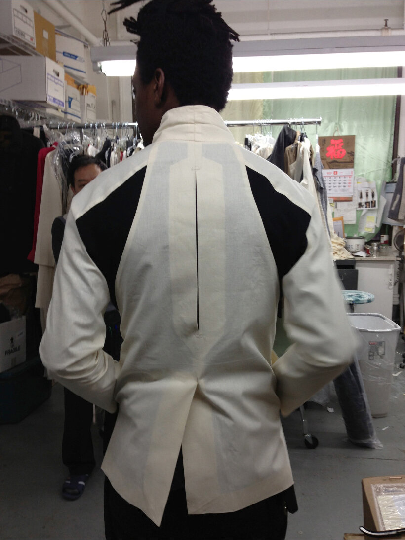 Initial prototypes of the ARC Jacket , 2013