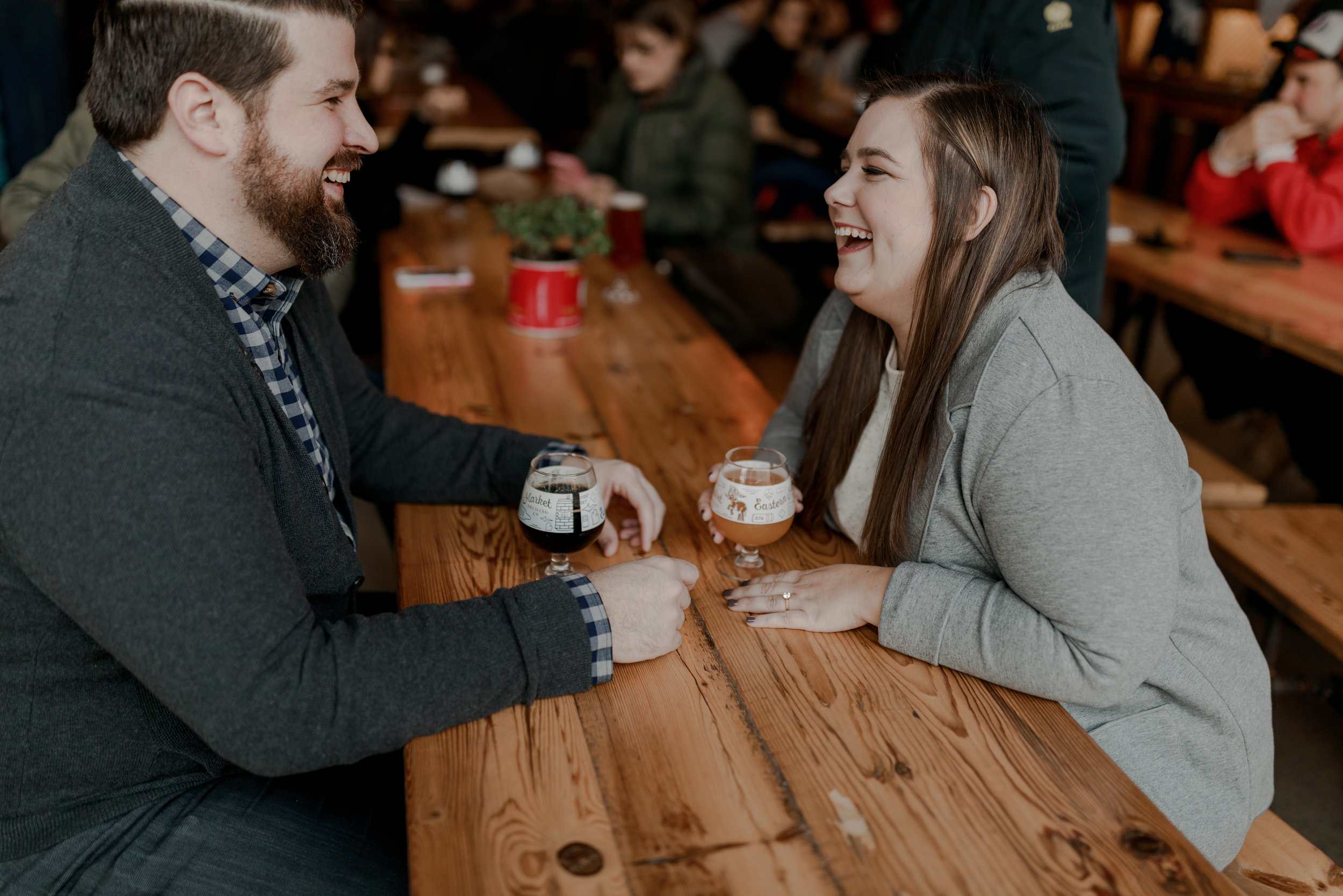 SARAH + DAVID - These two are getting married in less than two weeks so I HAD to share this super fun engagement session we did in Detroit. These guys know how to have a good time and I can't wait to see what their wedding day holds!