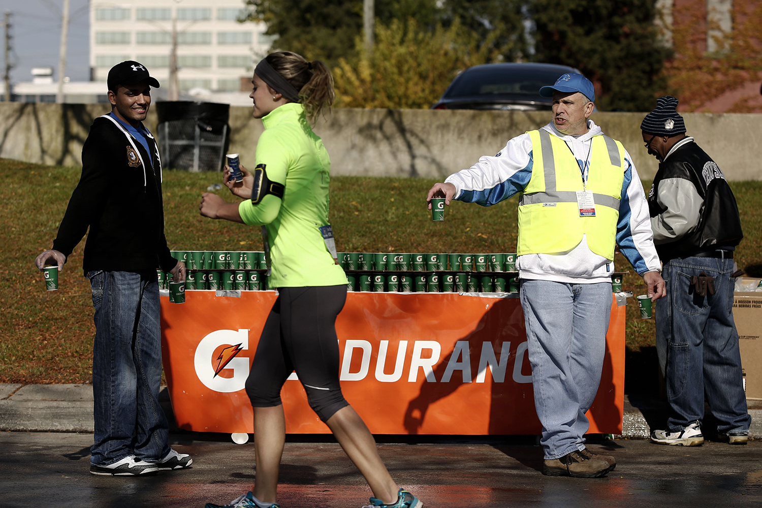 The 36th annual Detroit Free Press/Talmer Bank Marathon on Sunday, Oct. 20, 2013.