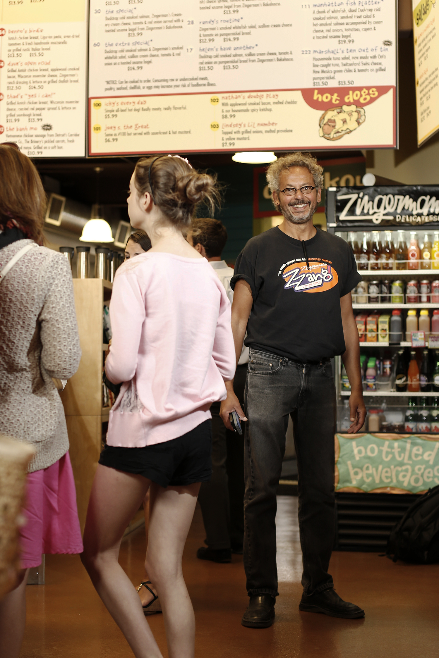 Ari Weinzweig has his portrait taken at Zingerman's Deli on Monday, August 5, 2013 in Ann Arbor, MI.  (Timothy Galloway / for the Chicago Tribune )