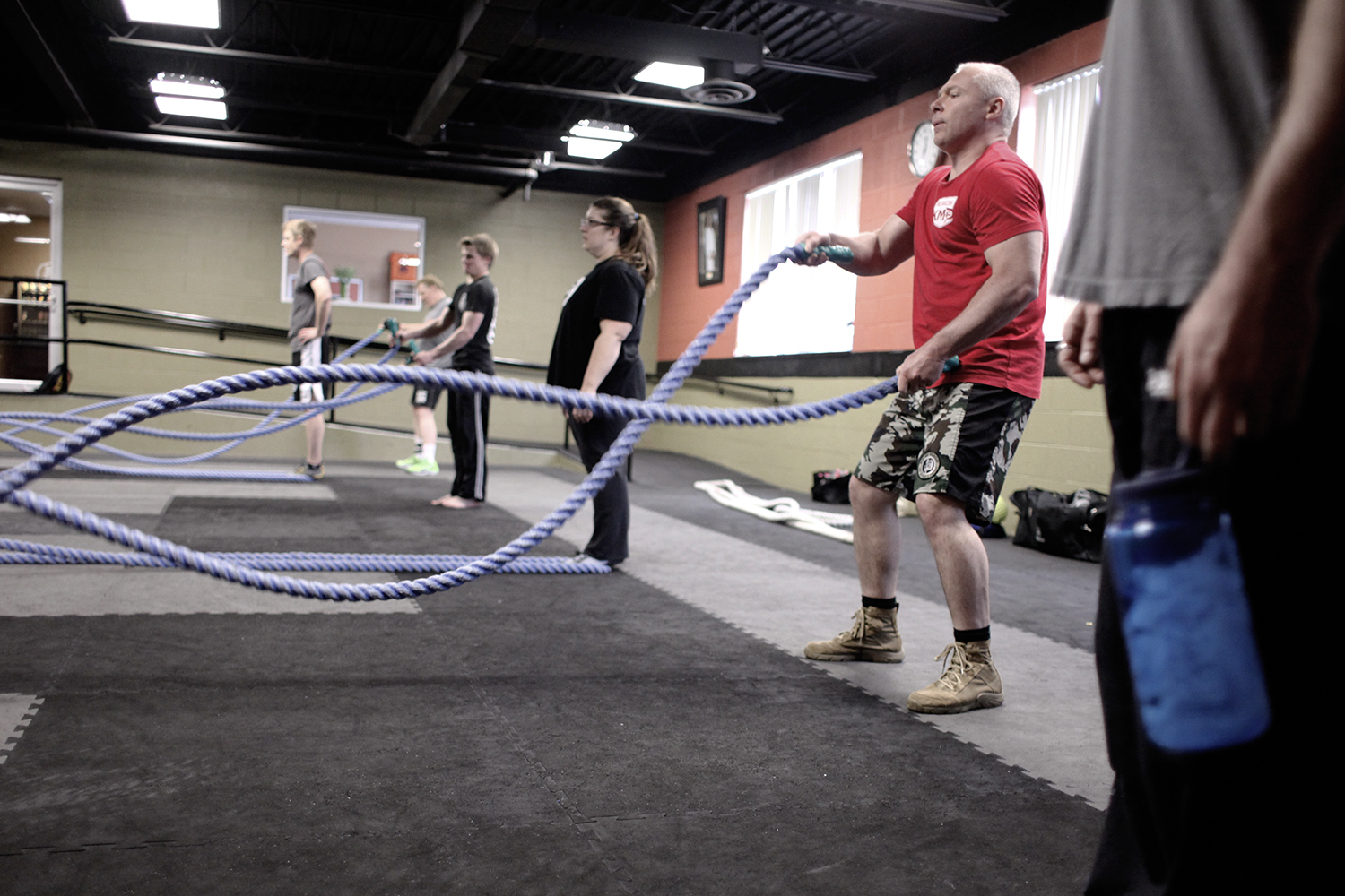 The Battling Ropes Seminar at Krav Maga Detroit on May 11, 2013.