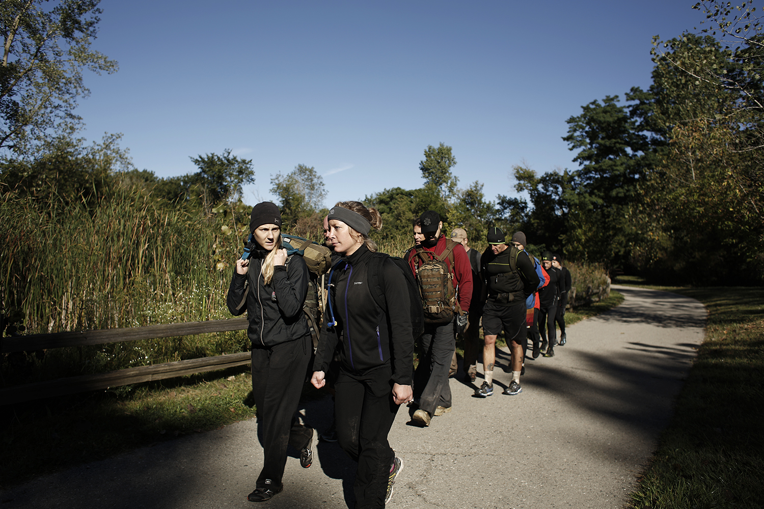 GORUCK Challenge Class 771 on Saturday, September 14, 2014 in Ann Arbor.