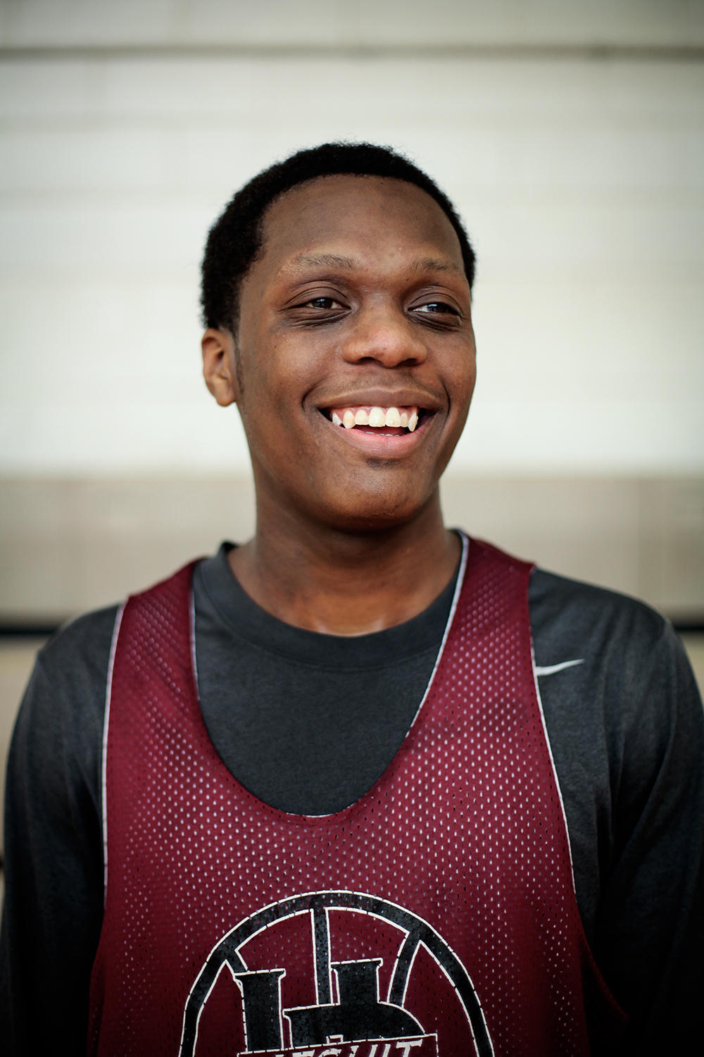 Cassius Winston, 16, Junior, from Detroit pauses for a portrait. Winston and his team practiced on the afternoon of Wednesday, Jan. 14, 2015 at the U of D Jesuit High School in Detroit. Tim Galloway/Special to DFP