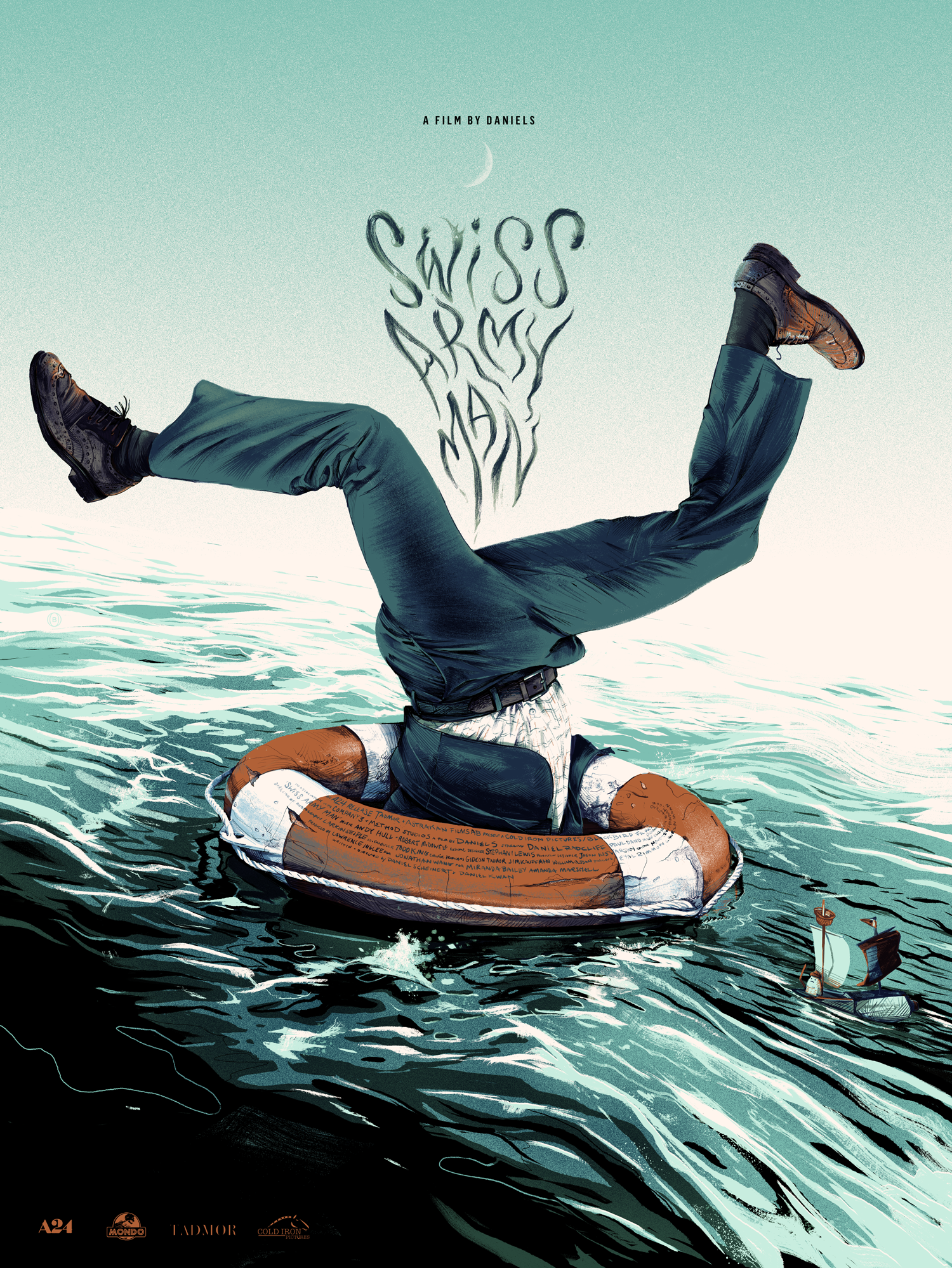 SWISS ARMY MAN - Mondo / A24limited edition, screen-printed film poster.available in the shop