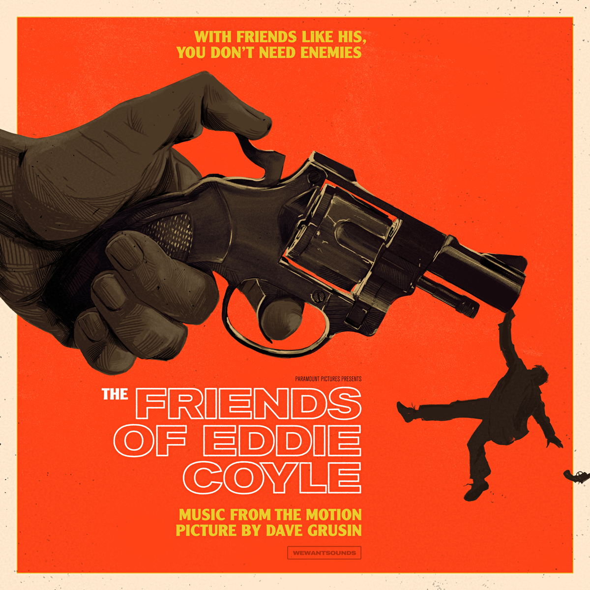 THE FRIENDS OF EDDIE COYLE   - We Want Sounds / Paramountsoundtrack LP Cover