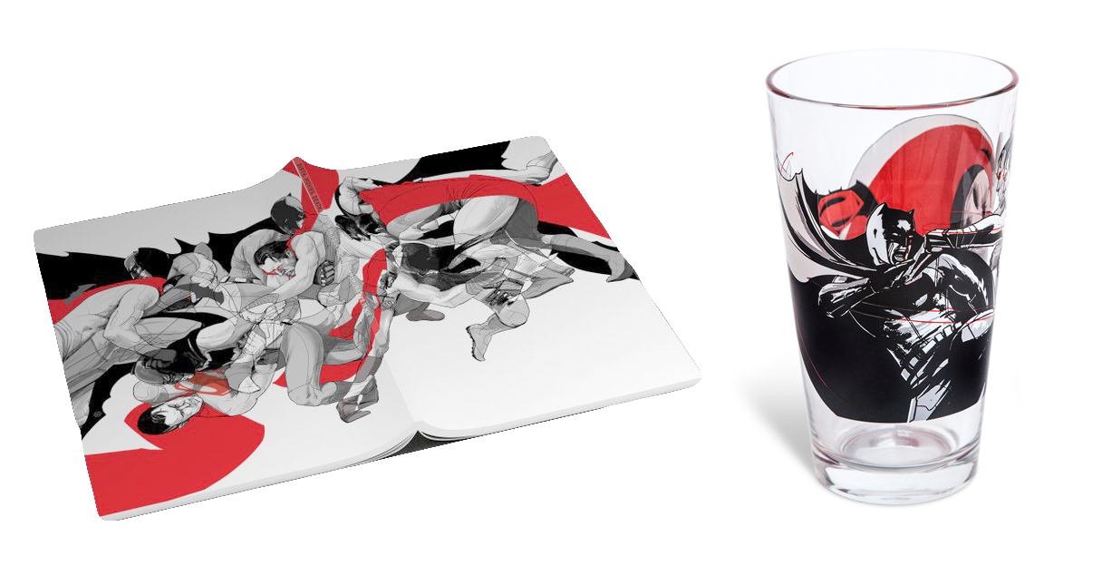 BMD's Cover and accompanying pint glass for Alamo Drafthouse